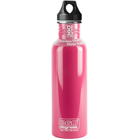 360° degrees Stainless Drink Bottle 0.75 litres pink